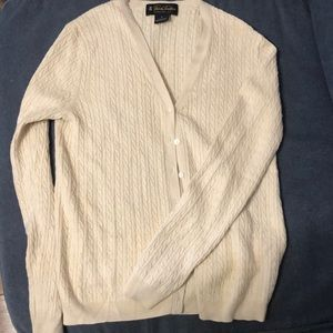 Brooks Brothers Silk and Cashmere Cardigan